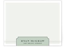 mcgraw Personalized Stationery