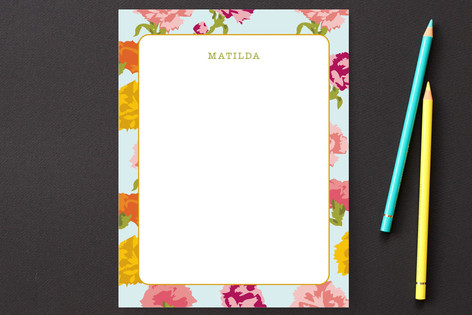 Matilda Flowers Personalized Stationery
