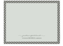 Paris + From Stripes to Chevrons Personalized Stationery