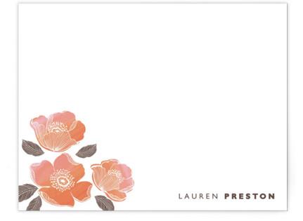 English rose Personalized Stationery