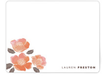 English rose Personalized Stationery