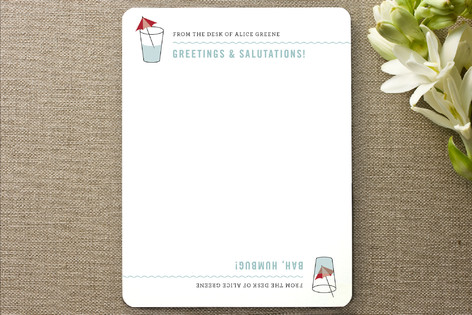 Good Day, Bad Day Personalized Stationery