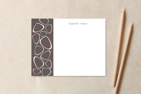 zen pebbles Personalized Stationery
