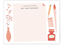 Desk Note Personalized Stationery
