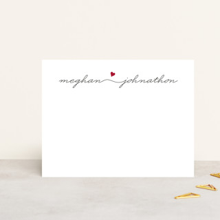 Love Connection Personalized Stationery