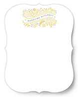 Wild Bellflowers Personalized Stationery