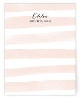 Sanibel Island Stripes Personalized Stationery