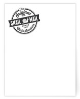 The Original Snail Mail Personalized Stationery