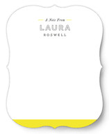 Simply Bright Personalized Stationery
