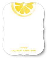 Lemony Fresh Personalized Stationery
