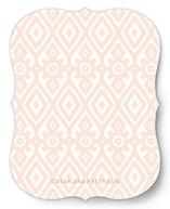 Diamond Wallpaper Personalized Stationery