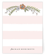 Floral Bough Personalized Stationery