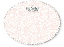 Garden of Elegance Personalized Stationery