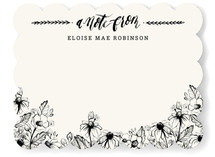 Wildflower Notes Personalized Stationery