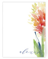 Big Bloom Personalized Stationery