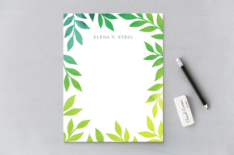 Blissful Personalized Stationery