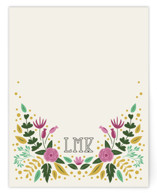 Notes of Fauna Personalized Stationery