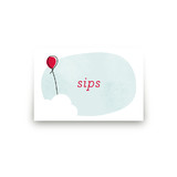 Up Up and Away Balloon Table Signs
