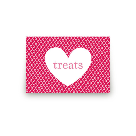 XOXO Personalizable Table Signs 2