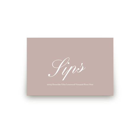 Modern Marble Personalizable Table Signs 2