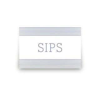 Simply Baby Personalizable Table Signs 2