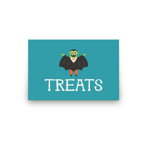 Monster Halloween Personalizable Table Signs 1