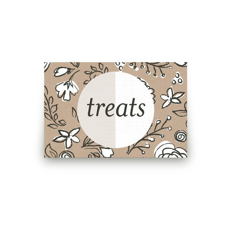 Wild Gardens Personalizable Table Signs 1
