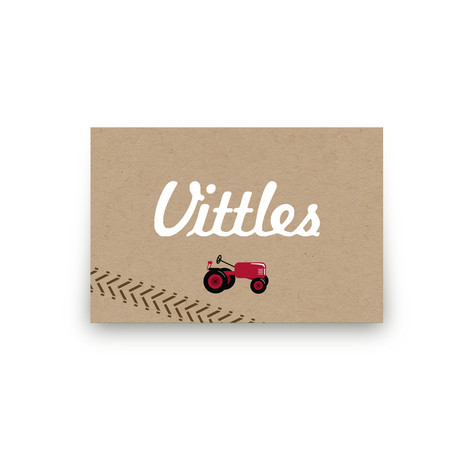 A Tractor Pull Personalizable Table Signs 1
