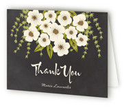 Plentiful Blossoms Bridal Shower Thank You Cards