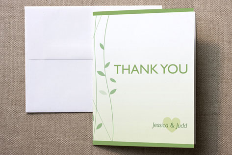 Finally Together Bridal Shower Thank You Cards