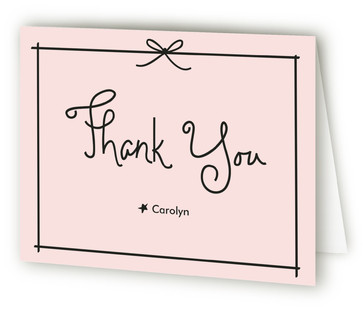 Pass the Macaroons Darling Bridal Shower Thank You Cards