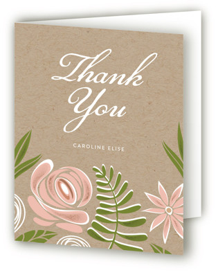 Southern Krafted Bridal Shower Thank You Cards