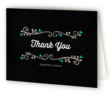Mystique Bridal Shower Thank You Cards