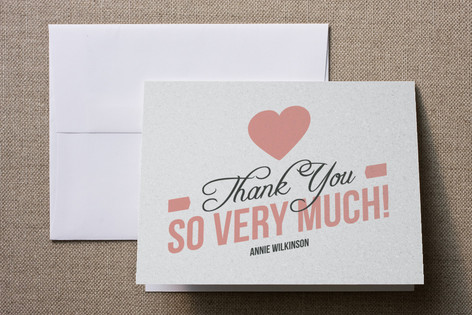 the future mrs Bridal Shower Thank You Cards