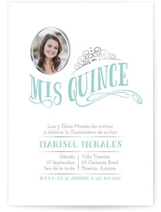 Mis Quince Quinceaera Invitations