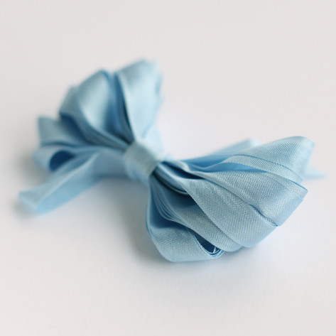 Sky Blue Shimmer Ribbon