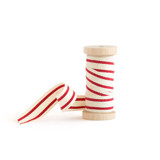 Cherry Red Cotton Stripe