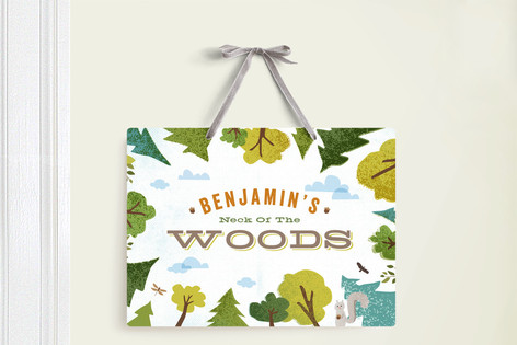 Deep in the Forest Room Decor Signs