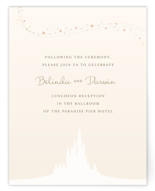 Enchanted Stars Reception Cards