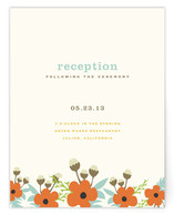 Spring Produce Reception Cards