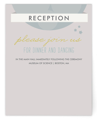 Infinity & Beyond Reception Cards