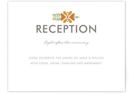 Kaleidoscope Reception Cards
