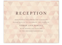 Calendar Settings Reception Cards