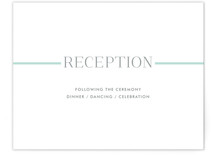 Broome Street Reception Cards