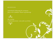 Bloom Reception Cards