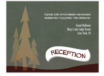 In the Woods Reception Cards