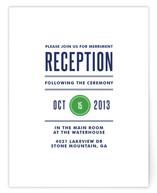 Modern Prep Reception Cards