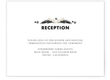 Chalkboard Reception Cards