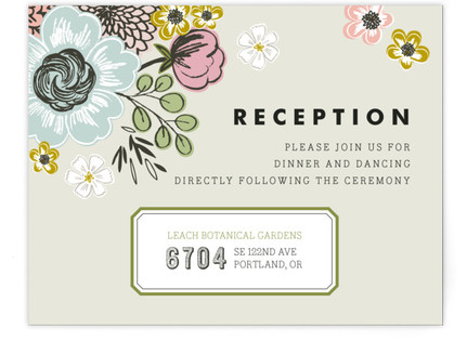 Seed Packet Reception Cards
