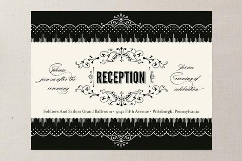 Cosmopolitan Roaring 20's Reception Cards